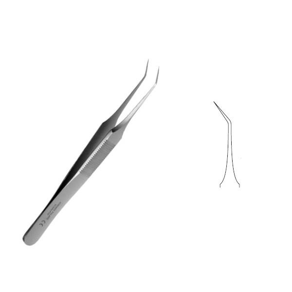 Penseta endodontica, curba, 110 : 0,1 mm