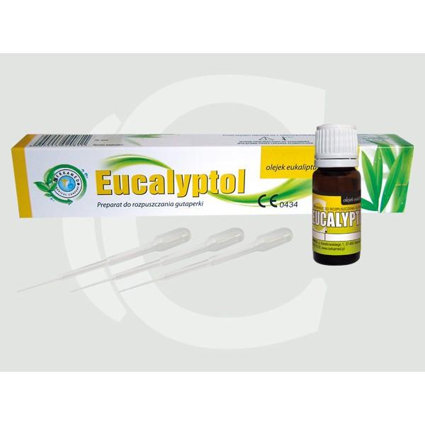 Eucalyptol - Preparat pentru dizolvarea conurilor de gutaperca - 10 ml