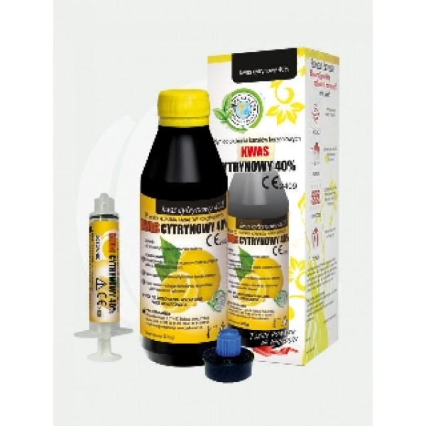 Acid Citric 40% - Lichid pentru clatirea canalelor radiculare - 200 g