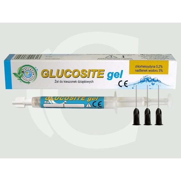 Glucosite gel, pentru tratarea pungilor parodontale 2 ml